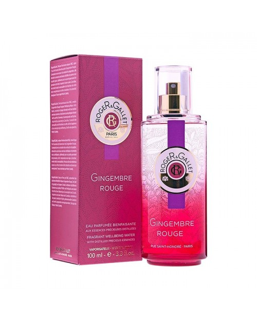 Roger&Gallet Gingembre Rouge agua fresca perfumada 100ml